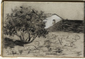 Landscape with house