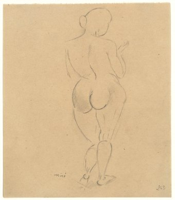 Untitled (Back of nude)
