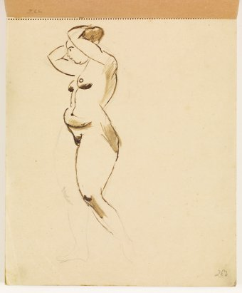 Study of nude