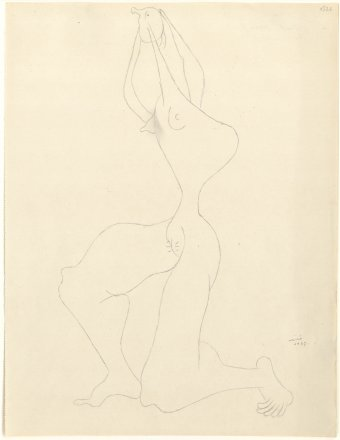 Untitled (Drawing from La Grande Chaumière)