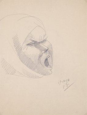 Study for Head of Montserrat 2
