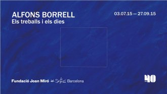 Alfons Borrell. Works and Days