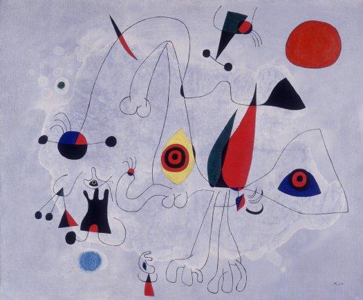Mujer Y Pájaros Al Amanecer Pinturas Catálogo De Obras