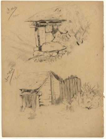 Untitled (Huts)