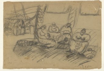 Untitled (Market scene)