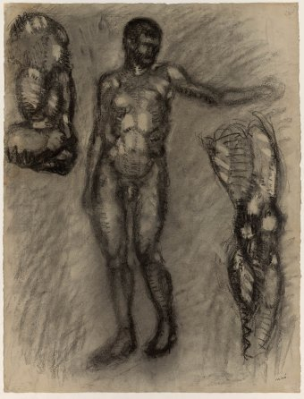 Untitled (Study of nude)
