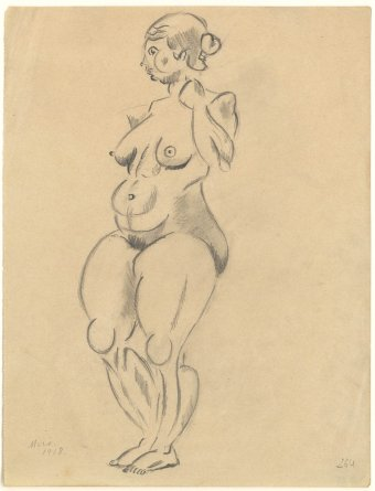 Untitled (Standing nude)
