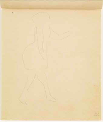 Study of female figure