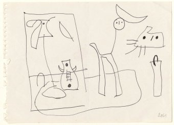 Drawing related to Untitled, 1951