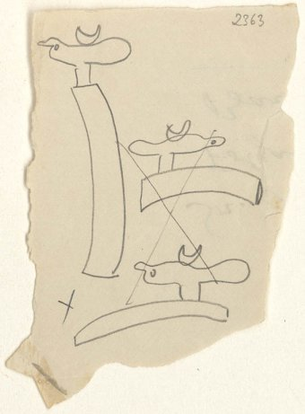 Preliminary drawings for Monument, 1956