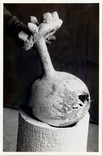 Model for the Joan Miró sculpture Her majesty, 1967