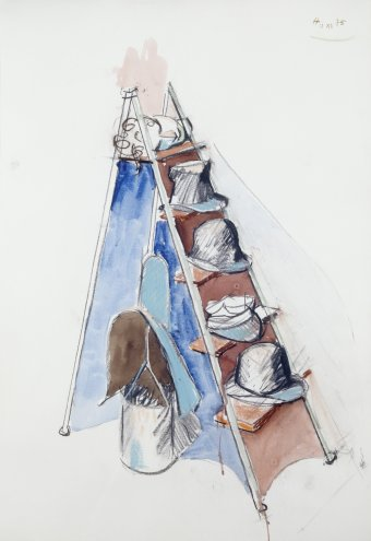 Hat ladder