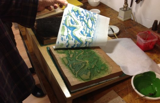 Japanese woodblock printing workshop | General | Fundació